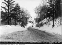 Historic photo from Tuesday, January 22, 1946 - Blythwood Road grading and paving - looking east? in Sherwood Park