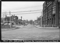 Historic photo from Wednesday, March 23, 1949 - Gladstone Hotel on Gladstone Avenue before widening in Beaconsfield Village