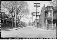 Historic photo from Monday, March 28, 1949 - Christie Street, north from south side of Barton Avenue in Seaton Village