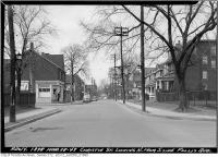 Historic photo from Monday, March 28, 1949 - Christie Street, north from south side of Follis Avenue in Seaton Village