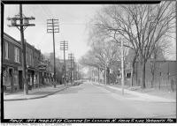 Historic photo from Monday, March 28, 1949 - Christie Street, north from south side of Yarmouth Road in Seaton Village