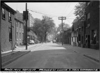 Historic photo from Thursday, September 22, 1949 - Dalhousie Street looking south from Gerrard Street East in Ryerson