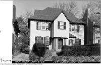 Historic photo from Tuesday, November 8, 1949 - Centre hall house at 149 Inglewood Drive in Moore Park