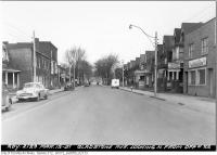 Historic photo from Monday, March 12, 1951 - Gladstone Avenue looking north from opposite 22 in Beaconsfield Village