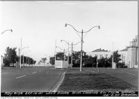 Historic photo from Sunday, September 16, 1951 - Lakeshore Boulevard looking southwest from Strachan in CNE