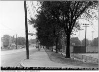 Historic photo from Tuesday, October 2, 1951 - West side, Mt. Pleasant, south from Millwood Road - Starks Studebaker in Davisville Village