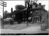 Historic photo from Wednesday, July 15, 1953 - 4 & 6 Roxborough Street East in Rosedale