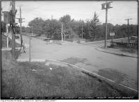 Historic photo from Wednesday, September 20, 1922 - Northeast on Pleasant Boulevard at Avoca and Bridge in Moore Park