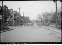 Historic photo from Monday, November 19, 1923 - Barricade Avoca Avenue in Moore Park