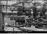 Historic photo from Wednesday, October 11, 1933 - Chutes and machinery in the Symes Road incinerator in Harwood