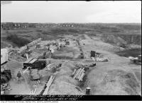 Historic photo from Wednesday, November 8, 1933 - Clearing at the Symes Road destructor in Harwood