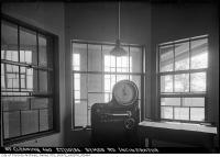 Historic photo from Saturday, October 27, 1934 - Fairbanks scale in the Symes Road incinerator in Harwood