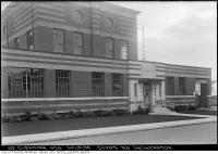 Historic photo from Monday, September 30, 1935 - Symes Road destructor - flower beds in Harwood