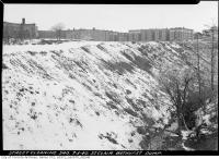 Historic photo from Thursday, March 7, 1940 - St. Clair dump on north side, east of Bathurst where subways station is now in Forest Hill