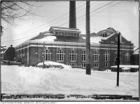 Historic photo from Wednesday, January 20, 1915 - Toronto Civic guard - High level Pumping Station in the winter in Republic of Rathnelly
