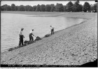 Historic photo from Tuesday, August 1, 1933 - Rosehill Reservoir in Rosehill
