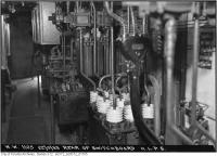 Historic photo from Friday, September 22, 1933 - Switchboard (rear) - High level pumping station in Republic of Rathnelly