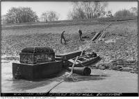 Historic photo from Monday, May 14, 1934 - Rosehill Reservoir - Cleaning in Rosehill