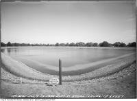 Historic photo from Wednesday, July 15, 1936 - Rosehill reservoir level 12.3 ft. in Rosehill