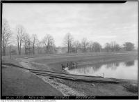 Historic photo from Wednesday, November 4, 1942 - Rosehill Reservoir re Cleaning and War protection in Rosehill