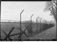 Historic photo from Wednesday, November 4, 1942 - Rosehill Reservoir barbed wire War protection in Rosehill