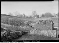 Historic photo from Saturday, November 7, 1942 - Rosehill Reservoir water intake in Rosehill