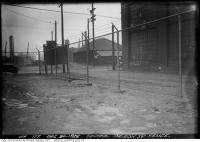Historic photo from Thursday, December 30, 1926 - Central Prison yard fence in Stanley Park