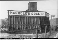 Historic photo from Friday, February 8, 1952 - Harrolds Coal Co - 346 Carlaw Avenue in Leslieville