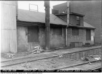 Historic photo from Thursday, May 29, 1952 - 330 Carlaw Avenue - face at rear of manufacturing plant in Leslieville