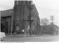 Historic photo from Thursday, October 23, 1958 - Royce Avenue Presbyterian Church 1543-1551 Dupont Street (at Perth) in The Junction
