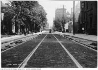 Historic photo from Sunday, July 16, 1911 - Victoria Street south from Shuter Street in Garden District