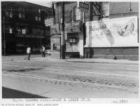 Historic photo from 1959 - Rupert Hotel on northwest corner Parliament and Queen Streets - then The Rupert Hotel rooming house in Moss Park
