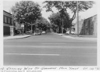 Historic photo from 1958 - Phone booth on St. Germaine looking west from Yonge Street in Bedford Park