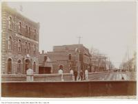 Historic photo from 1894 - Union Hotel, Parkdale on Queen Street West at Dufferin in Beaconsfield Village