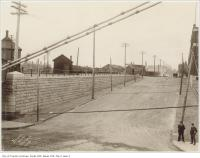 Historic photo from 1898 - Queen Street subway looking south down Dufferin Street in Beaconsfield Village