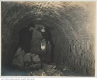 Historic photo from Sunday, October 15, 1899 - Tunnel opposite 29, 31, 33 Gladstone Avenue in Beaconsfield Village
