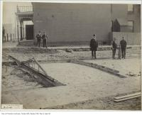 Historic photo from Friday, November 6, 1903 - Cobblestone (brick) on  Sheridan Avenue in Brockton Village
