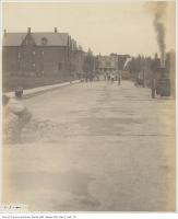 Historic photo from Tuesday, July 5, 1904 - St. George Street south of Dupont Street,. old concrete in The Annex