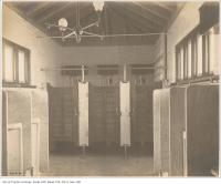 Historic photo from Thursday, February 22, 1906 - Interior of the Cottingham Street Mens washroom at Yonge Street in Summerhill