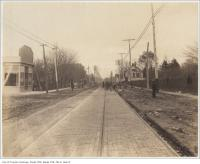 Historic photo from 1890 - Queen Street east of Lee Avenue in The Beaches in The Beaches