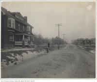 Historic photo from 1890 - Havelock Street looking north to Dewson Street in Dufferin Grove