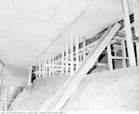 Historic photo from Friday, November 20, 1953 - Underpinning of the Rosedale Subway Station in Rosedale