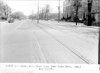 Historic photo from Friday, May 17, 1935 - St Clair Ave, east from Deer Park Cres, (Way Department) in Deer Park