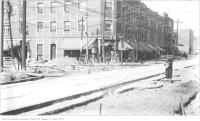 Historic photo from Monday, October 9, 1922 - North-west corner of Yonge Street and St Clair in Deer Park