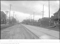 Historic photo from Thursday, October 19, 1922 - Stop 25, Yonge St near Brookdale Avenue looking south in Bedford Park