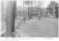 Historic photo from Wednesday, April 18, 1923 - Dundas and George, looking east in Garden District
