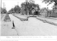 Historic photo from Tuesday, June 5, 1923 - Erindale Loop - Broadview, looking north in Playter Estates