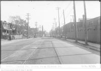 Historic photo from Monday, October 8, 1923 - Keele St, south, from Hirons St in The Junction