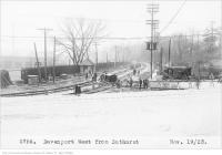 Historic photo from Monday, November 19, 1923 - Davenport, west from Bathurst in Wychwood Park