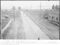 Historic photo from Friday, October 17, 1924 - Eglinton Ave, looking east, from Dufferin and Vaughan - Township of York in Fairbank